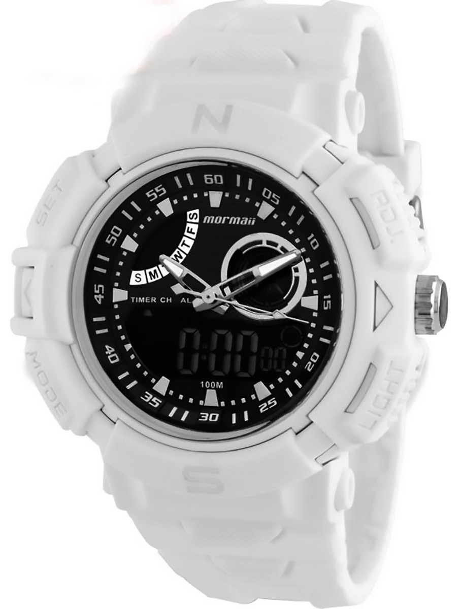 Relógio Masculino AnaDigi Mormaii Acqua Pro b1bd992c76