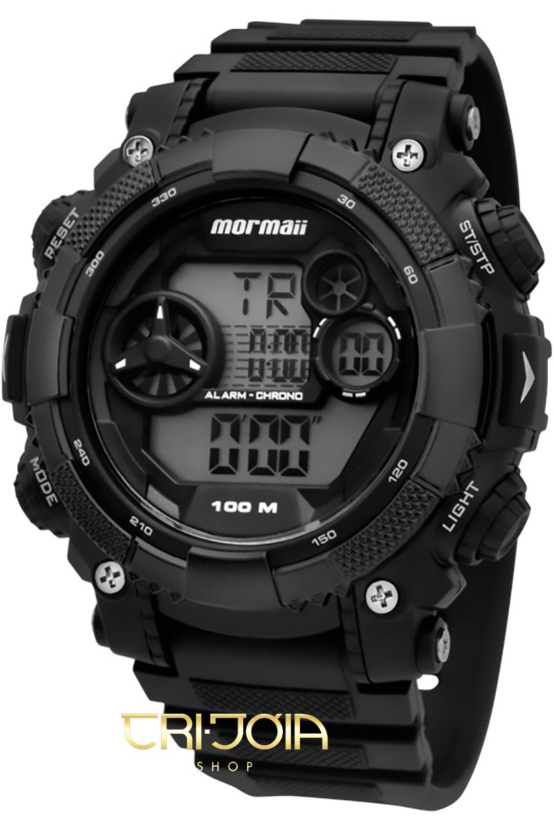 Relógio Masculino Digital Mormaii Acqua Pro MO12579 99065fe743