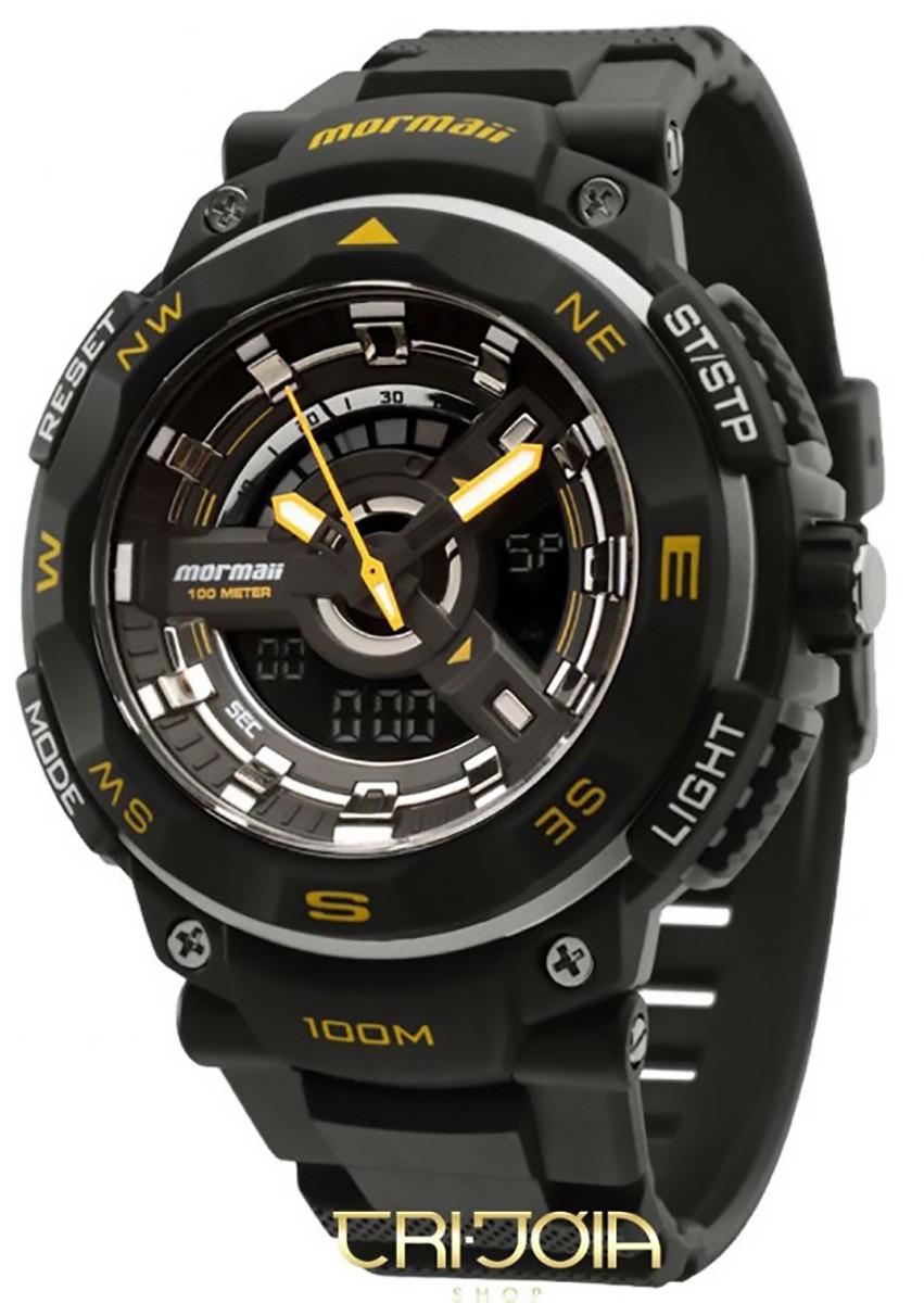 0fee8c80396 Relógio Masculino AnaDigi Mormaii Acqua Pro Resist MO11533