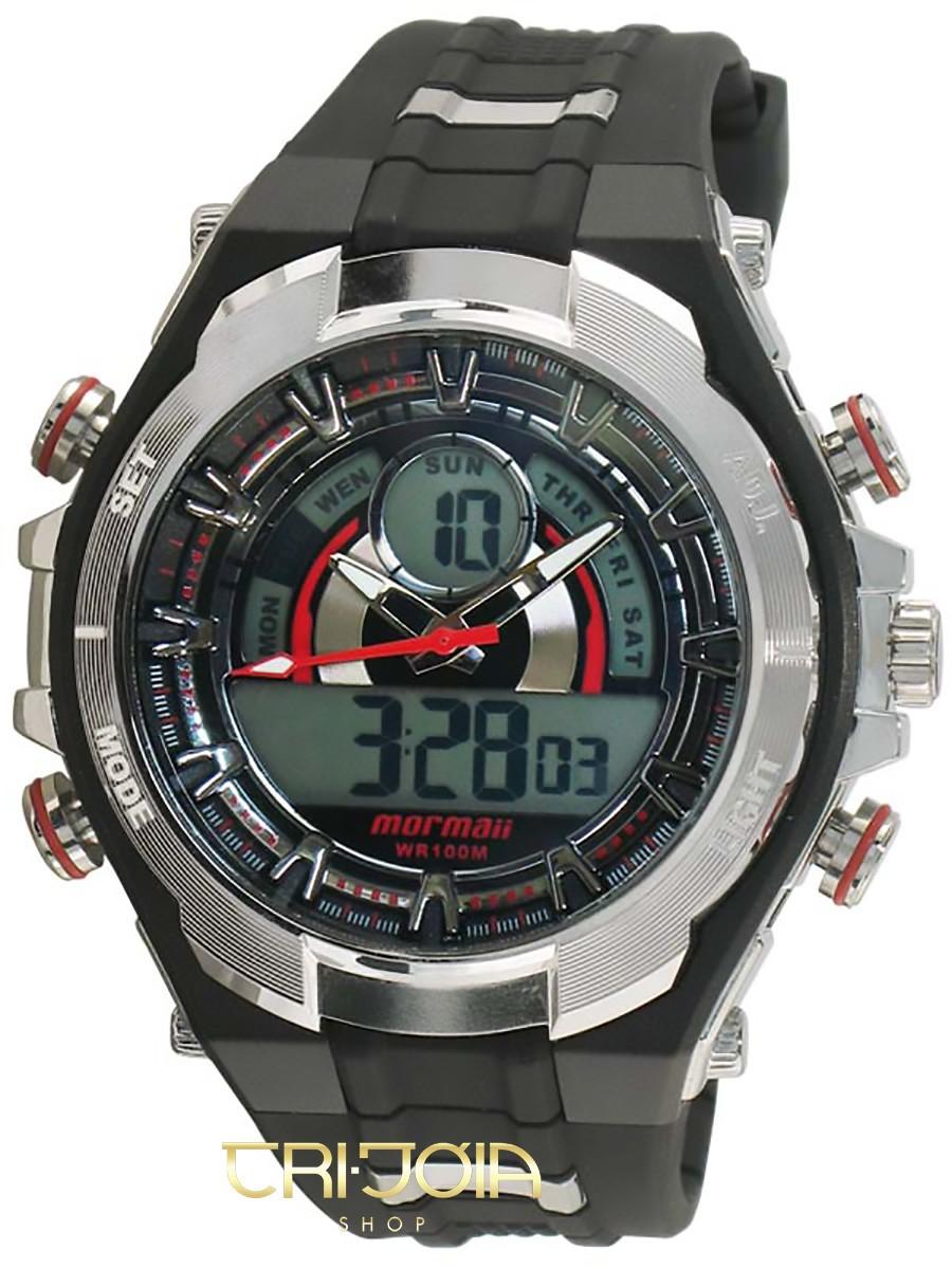 f091fc3e6fa Relógio Masculino Ana-Digi Mormaii BT057A