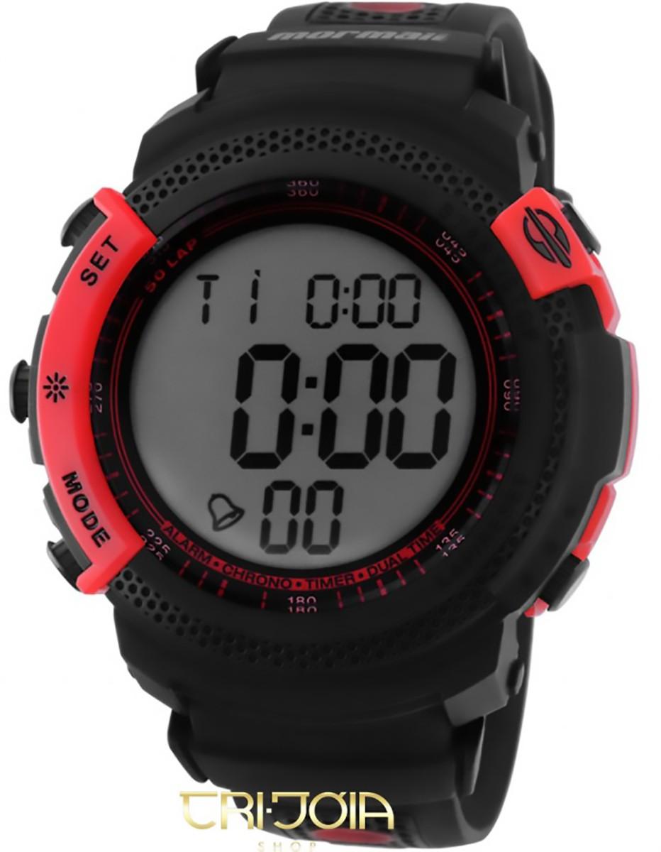 ce01152d087 Relógio Masculino Digital Mormaii Action D92178