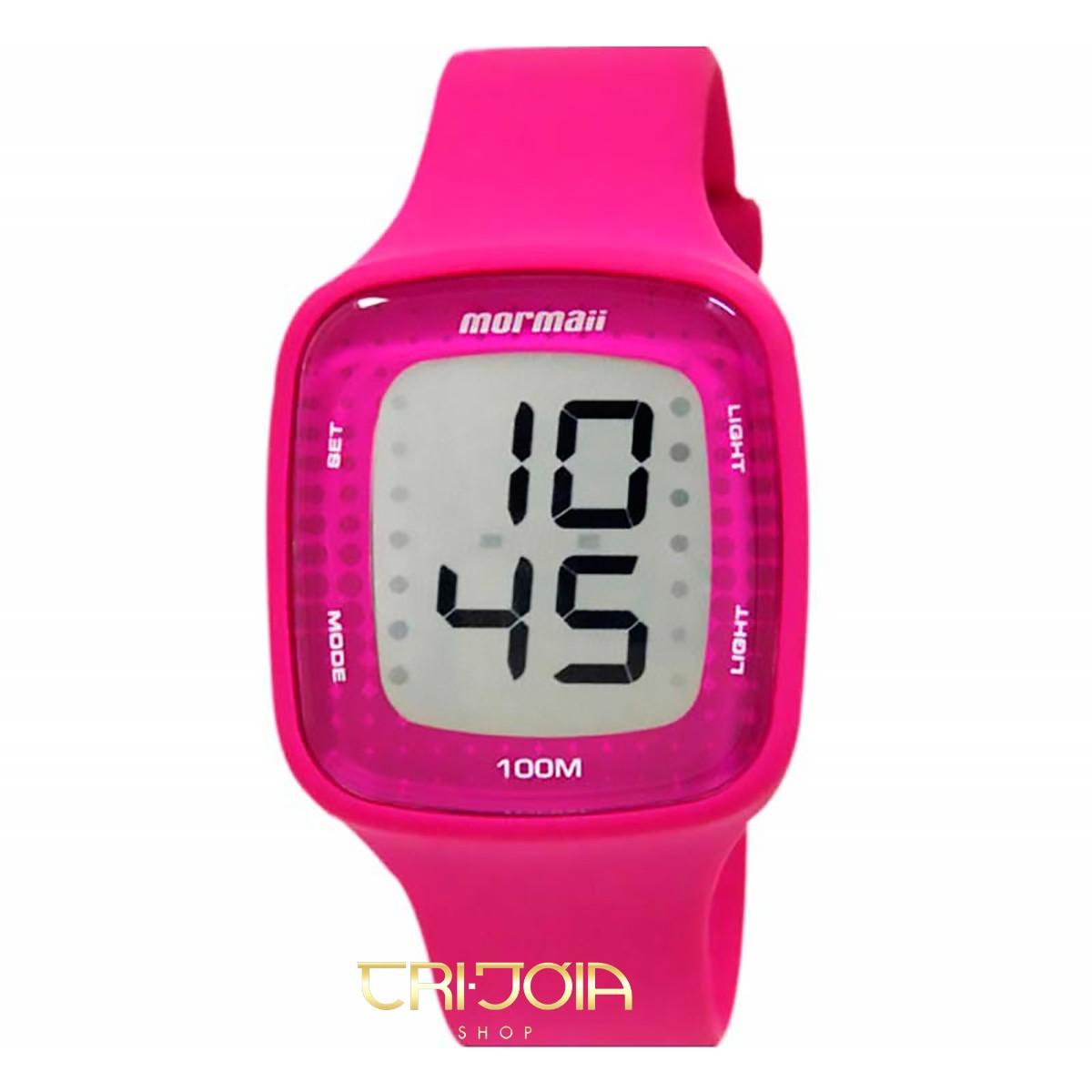 46ff3d06636 Relógio Feminino Digital Mormaii M0914AA