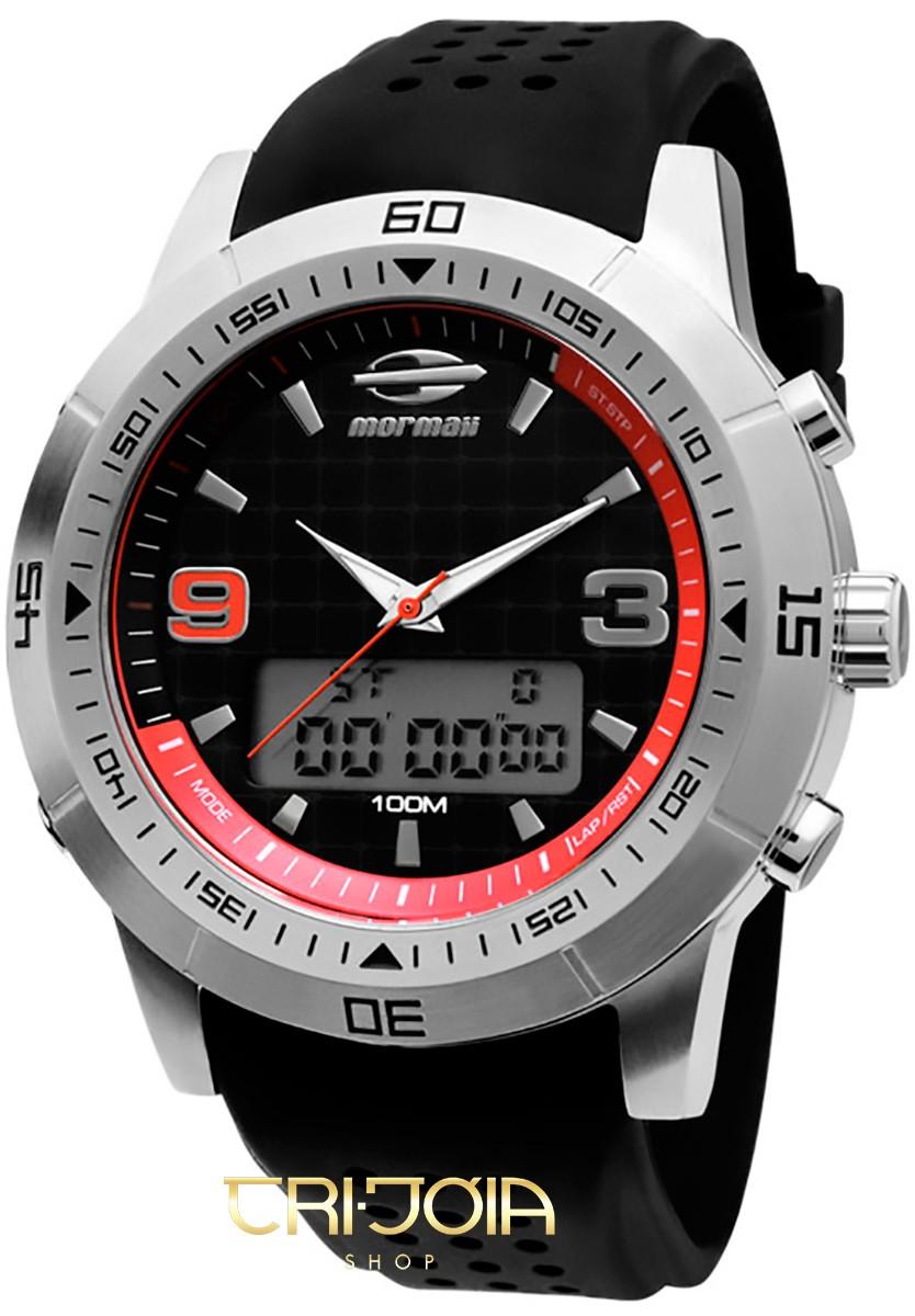 37a98fa2ad727 Relógio Masculino Ana-Digi Mormaii Premium NW1901