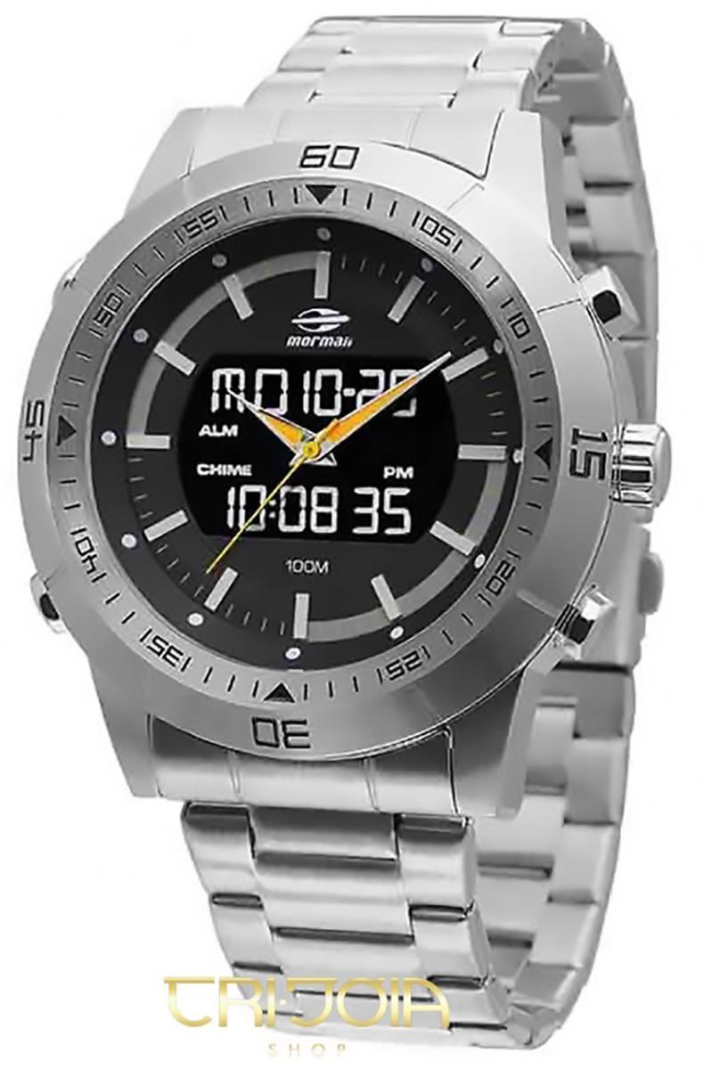 Relógio Masculino Ana-Digi Mormaii QG158AA 2124819666