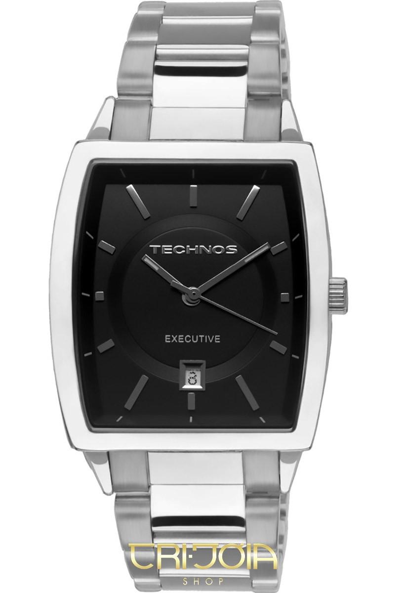 7f5de41e601 Relógio Masculino Analógico Classic Executive Technos 2115SE