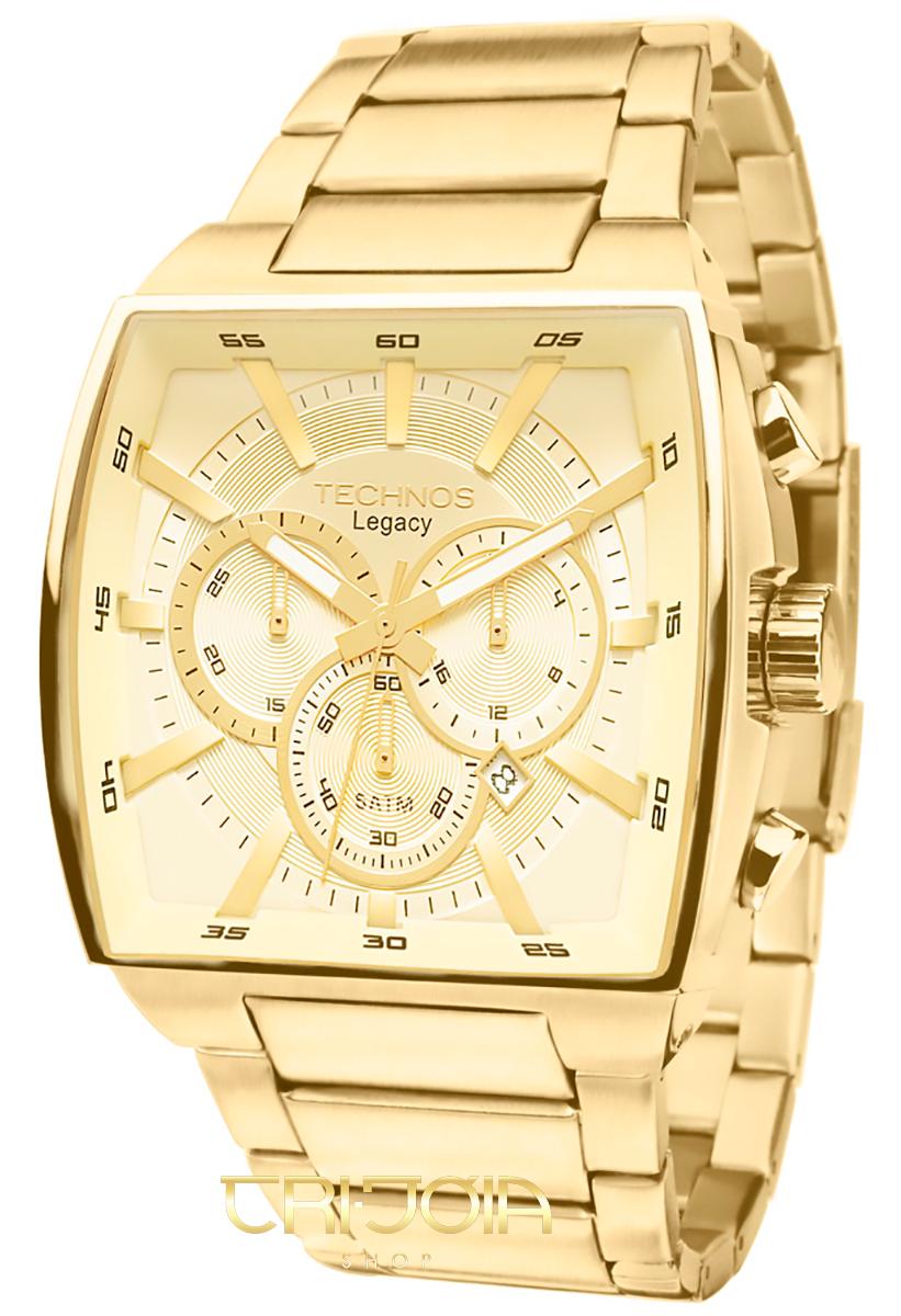 Relógio Masculino Analógico Classic Legacy Technos JS25A bb2b960709