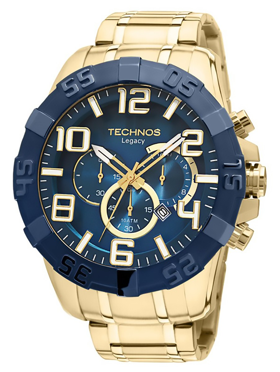 2a022538cd6 Relógio Masculino Analógico Classic Legacy Technos OS20