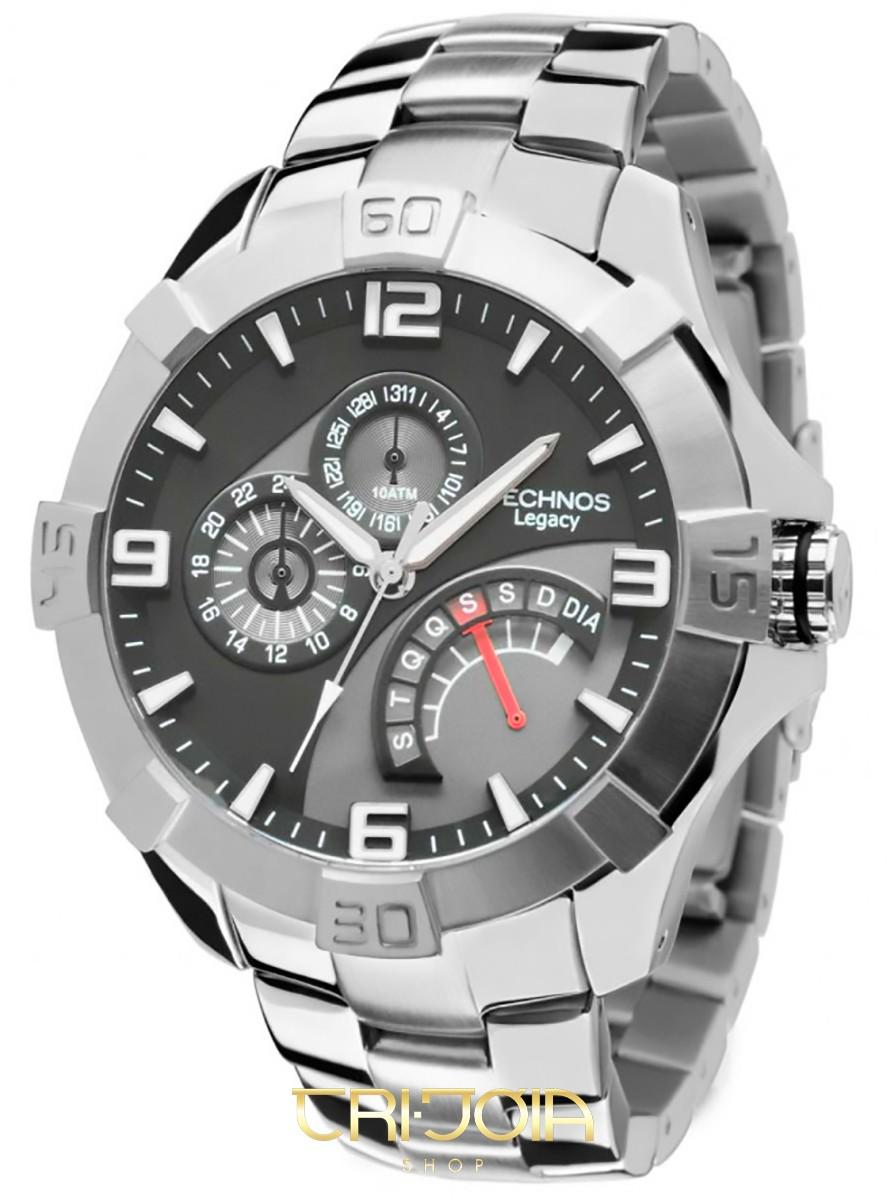 a7a4c198bc974 Relógio Masculino Analógico Classic Legacy Technos JR00AI