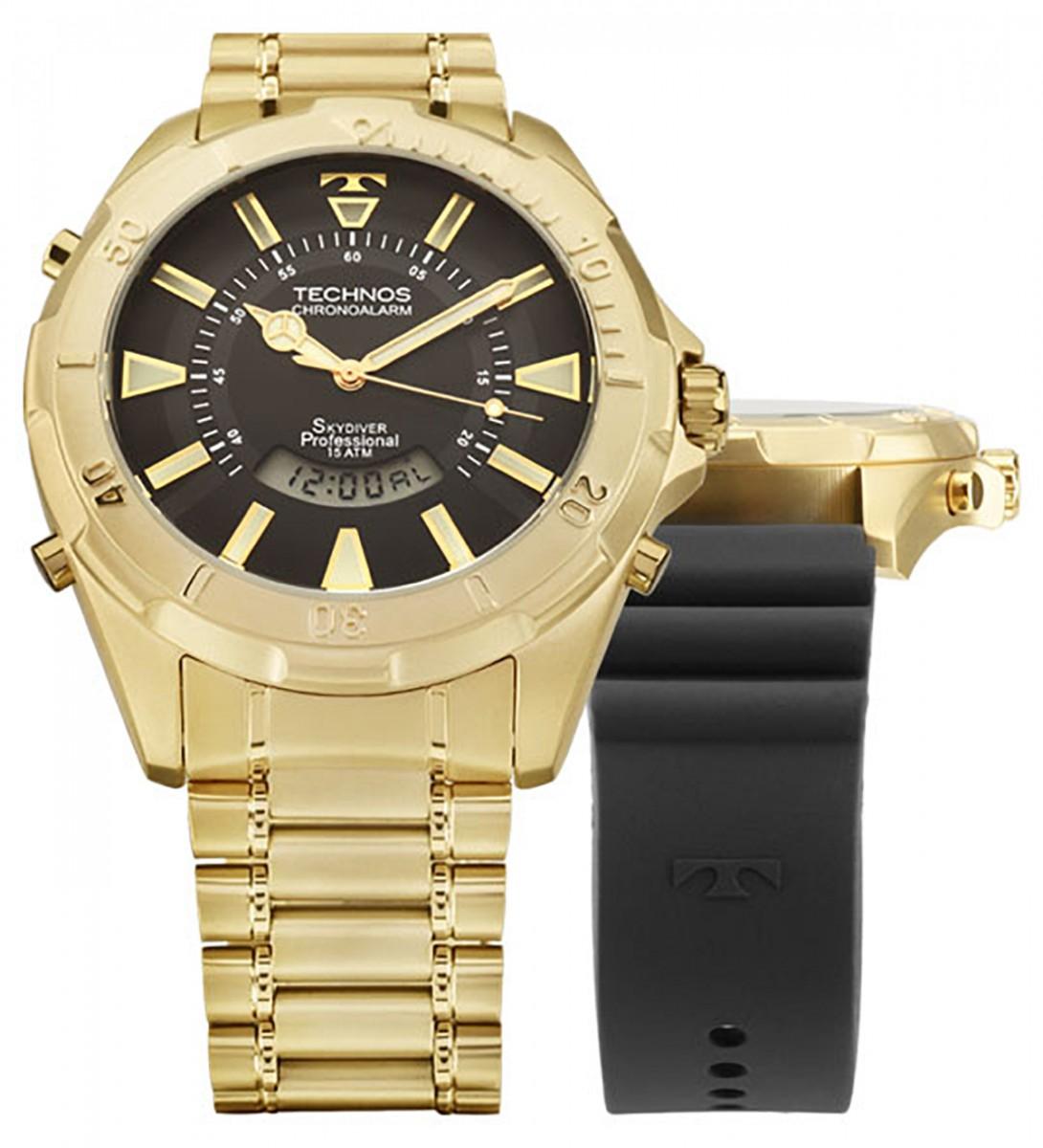 Compre Relógio Technos Skydiver - Edição comemorativa 30 anos em 10X ... a6542b81d7