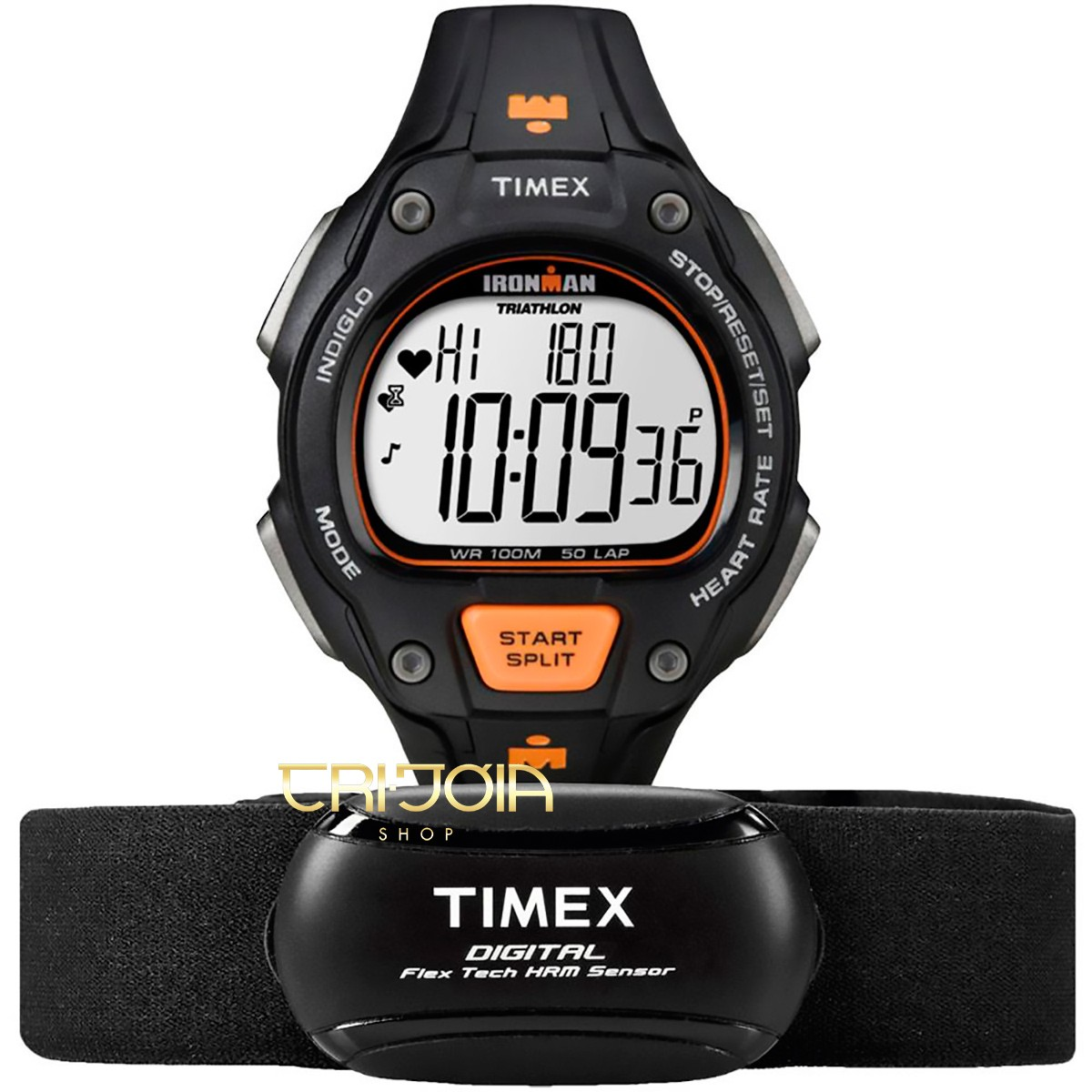 ef32dc18da5 Relógio Timex H F IronMan Road Trainer T5K720
