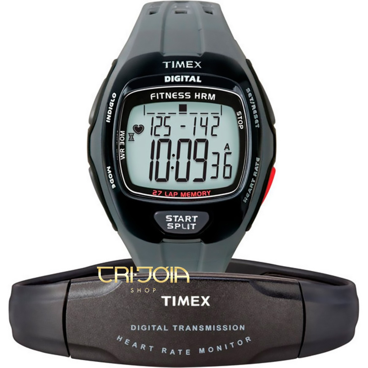 c98845726e8 Relógio Digital Timex Zone Trainer T5K736