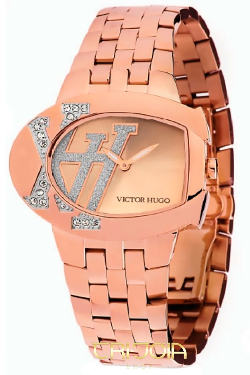 0fc22daab Relógio Feminino Analógico Victor Hugo VH10050 | Melhor Preço | Tri ...