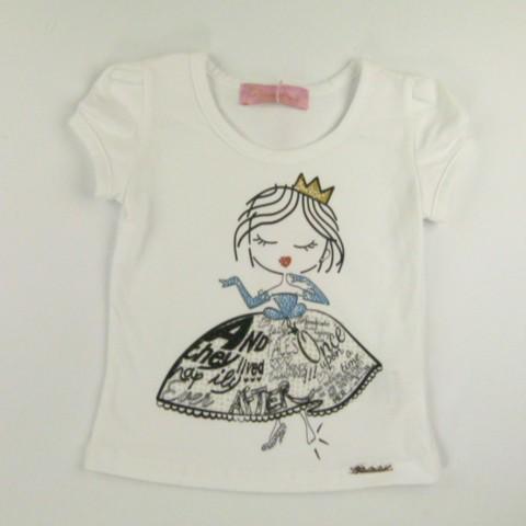 Baby Look Boneca Princesa Pituchinhus - 028592