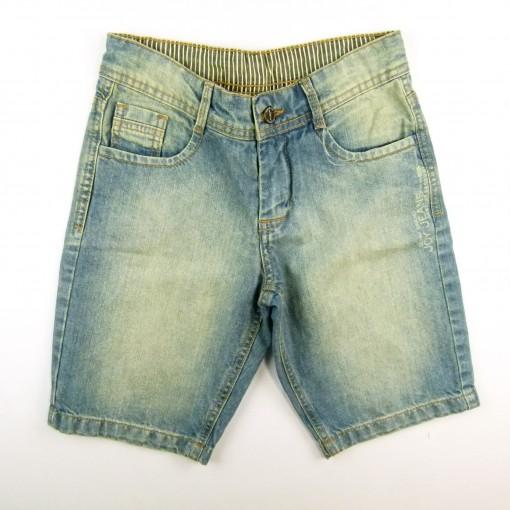 Bermuda Jeans c Cós Listrado Cordão Joy - 024169