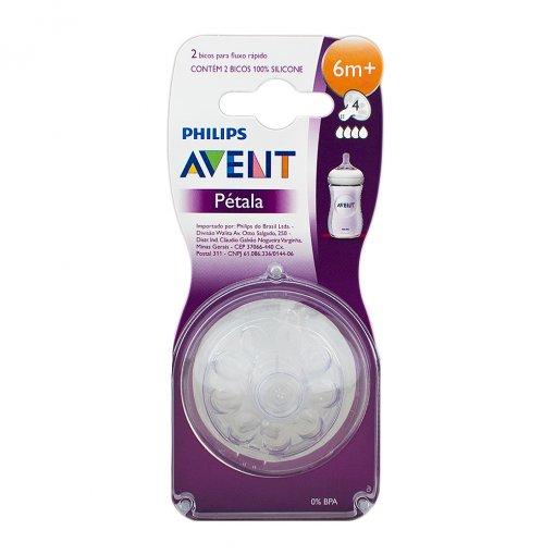 Bico de mamadeira pétala +6 meses - Avent