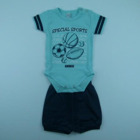 Body com Shorts Suedine Sport Vicky Lipe - 029635