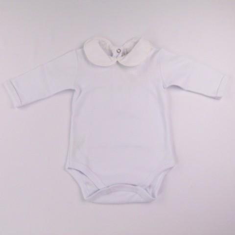 Body manga longa feminino com gola Petit Mouton - 027838