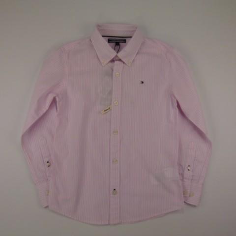 Camisa Parkfield Stripe Shirt ls Almond Tommy Hilfiger - 029344
