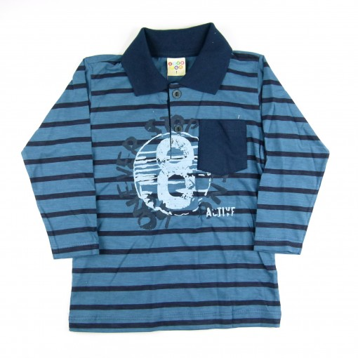 Camisa Polo Flamê Have Fun - 037825/037826