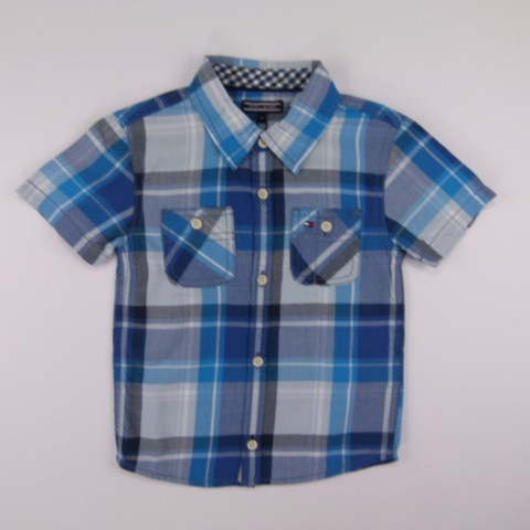 Camisa Wisconsin Check Shirt Monaco Tommy Hilfiger - 029349