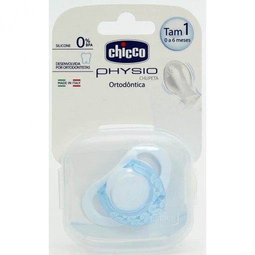 Chupeta ortodôntica PhySio tamanho 1 para +0 à 6 meses - Chicco