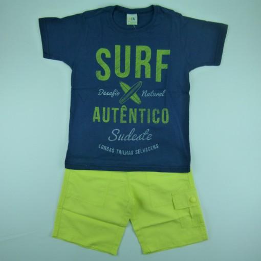 Conjunto Camiseta e Bermuda Malwee - 029237