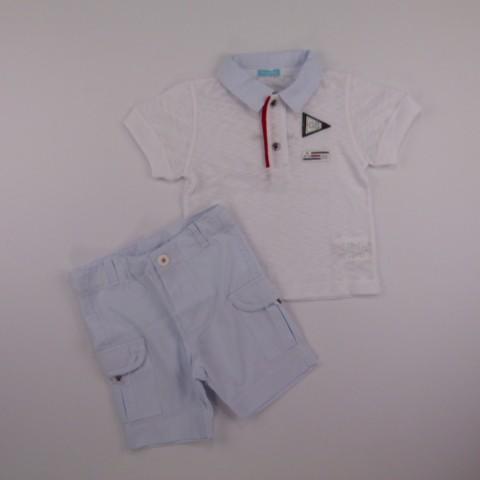 Conjunto Polo gb e Bermuda Gira Baby - 029282