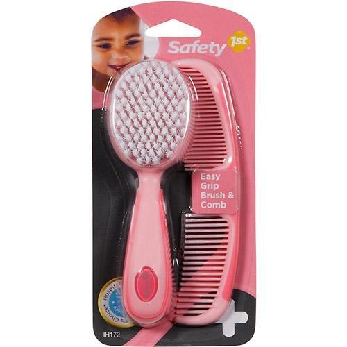 Kit com pente e escova de cabelo - Safety