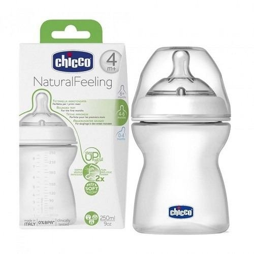 Mamadeira New Step UP 2 250ml para +4 meses - Chicco