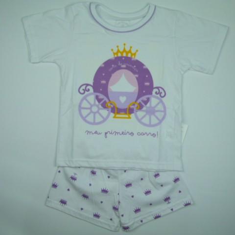 Pijama Carruagem Cara de Criança - 028716