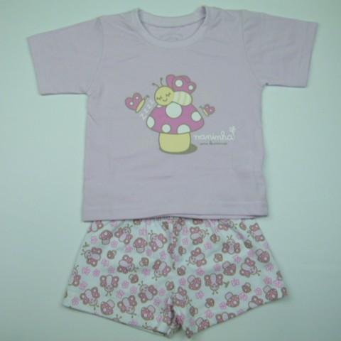 Pijama Cogumelo Cara de Criança - 028763