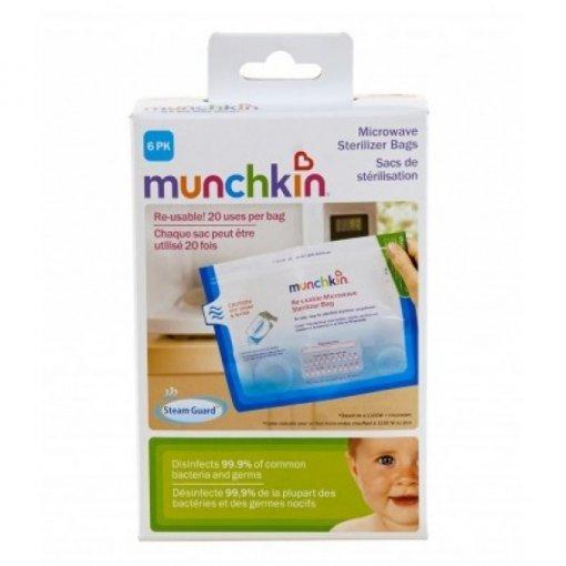 Sacos esterilizadores para microondas com 6un - Munchkin