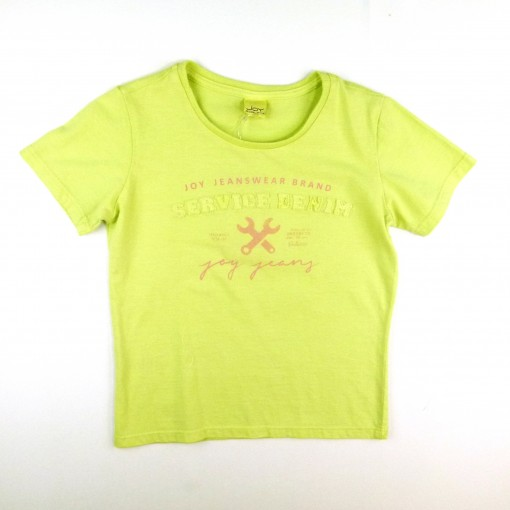 T-shirt Tinturada c Silk Bordado Joy - 024174