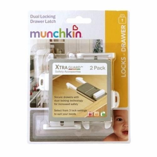 Trava dupla para gavetas com 2un - Munchkin