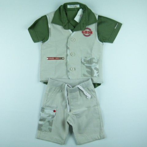 Trio gb Militar Gira Baby - 029272