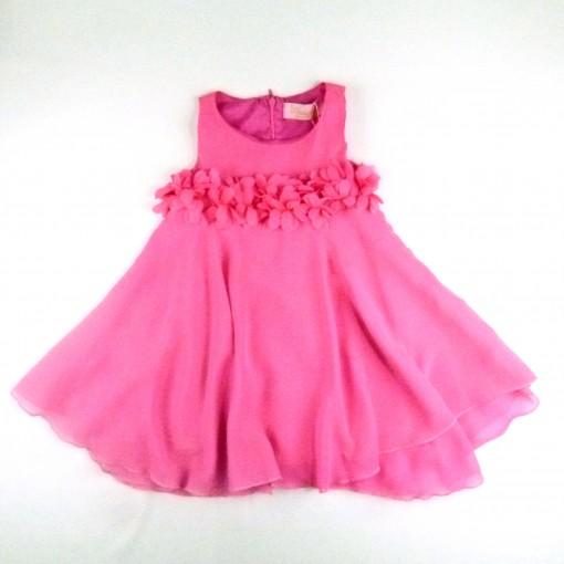 Vestido Chiffon Flores Pituchinhu's - 024519