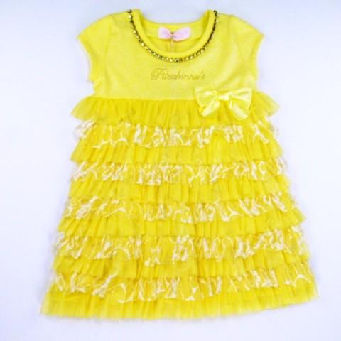 Vestido Cotton Cascata Glow Pituchinhus - 019573