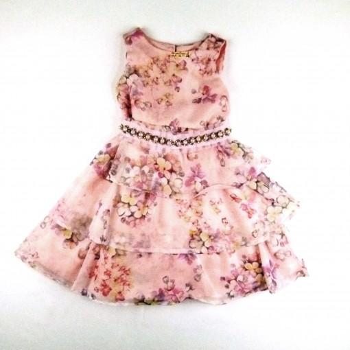 Vestido Floral Kinish Animê - 023178