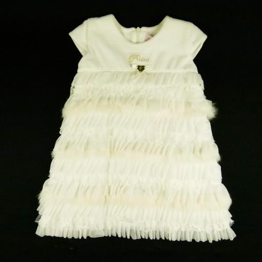 Vestido Plush Cascata Babados Pituchinhu's - 022542