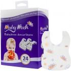 Babador Descartável C/24 Baby Bath - 020046