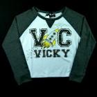 Blusa Boxy em Viscolycra Vic Vicky - 036471