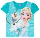Blusa com estampa da Elsa e Olaf - Brandili