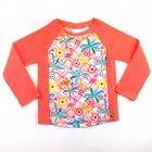 Blusa com estampa de flamingo e flores - Everly