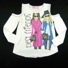 Blusa Cotton Best Friends Pituchinhu's - 031210