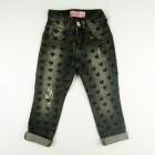 Calça jeans com corações - Pituchinhu's