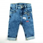 Calça jeans estonada - Animê Petite