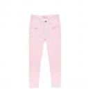 Calça Jeans Menina com Perolas Pituchinhus