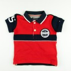 Camiseta Colorblock Baby Boy Polo Tommy Hilfiger - 033915
