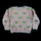Casaco Fluffy Corações Animê Petite - 036120