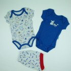 Imagem - Conjunto 2 bodies e shorts Have Fun - 028405 cód: 028405